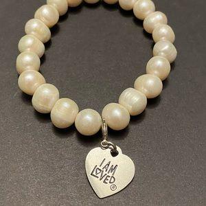 """""""I Am Loved"""" bracelet"""